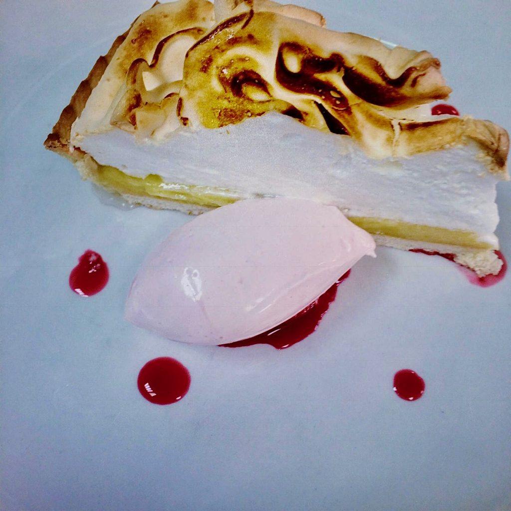 Valentine's Day lemon meringue